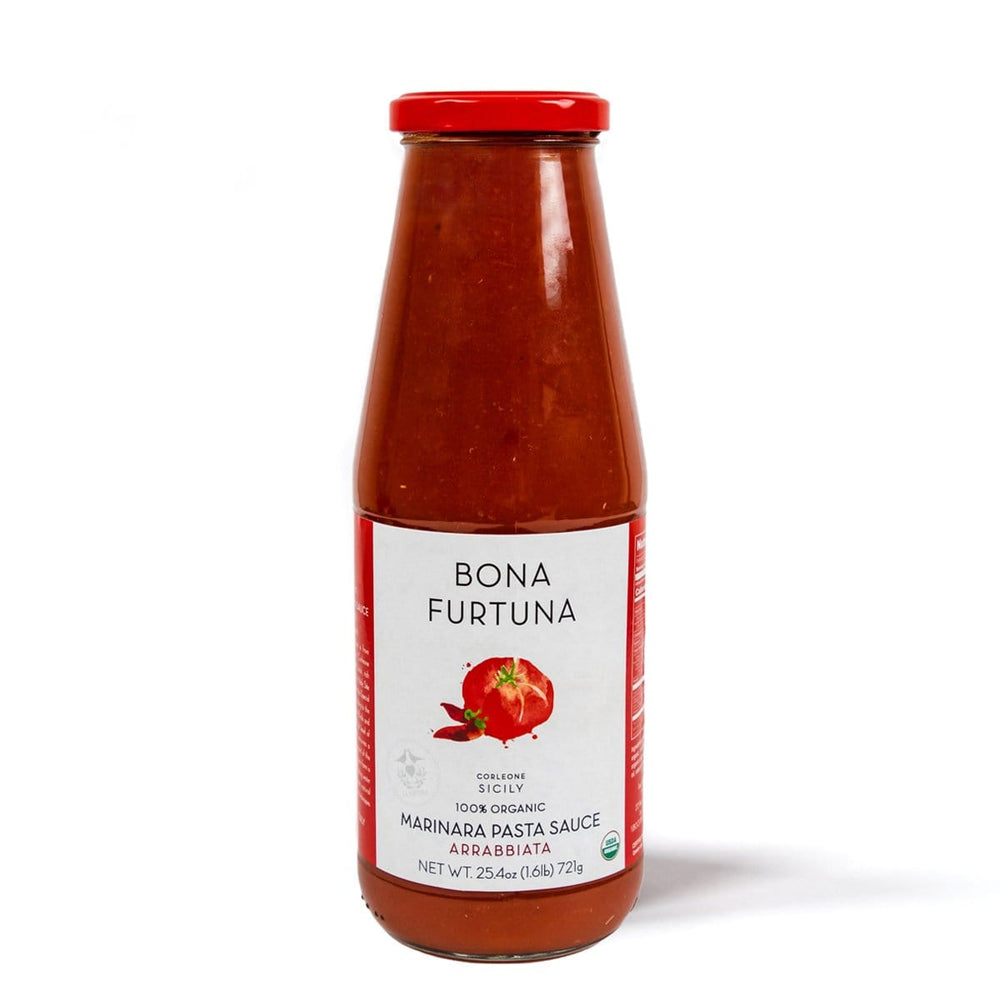 Bona Furtuna Arrabbiata Marinara - Traditional Sicilian Pasta Sauce from Corleone, Italy