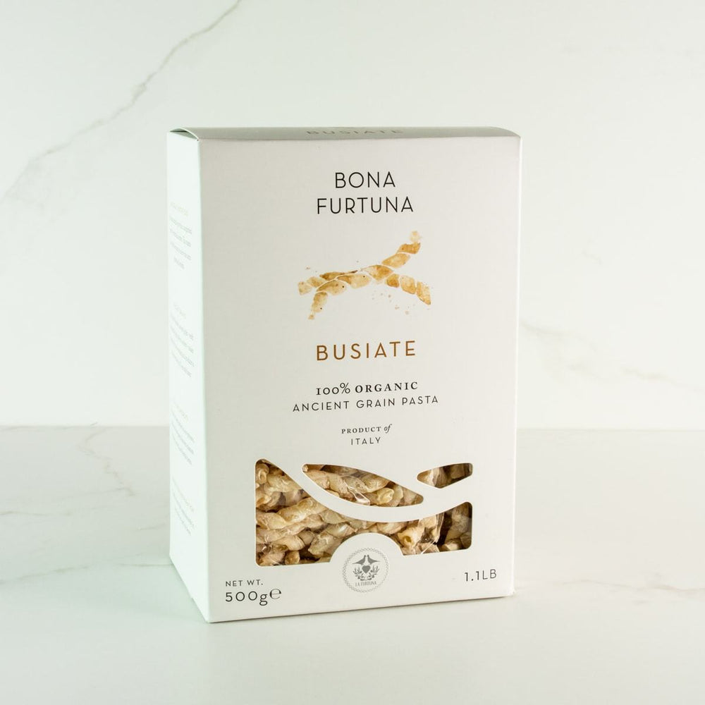 Bona Furtuna Busiate - Imported Ancient Grain Busiate from Italy