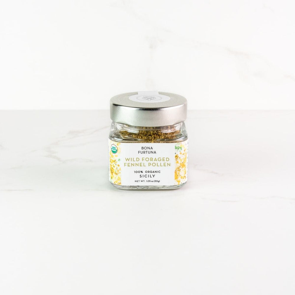Bona Furtuna Wild Foraged Fennel Pollen - Buy Organic Italian Fennel Pollen