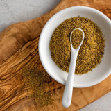 Bona Furtuna Wild Foraged Fennel Pollen in Bowl - Dried Fennel Pollen Spice