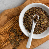 Bona Furtuna Wild Foraged Fennel Seed in Bowl - Sicilian Wild Fennel Seed Seasoning