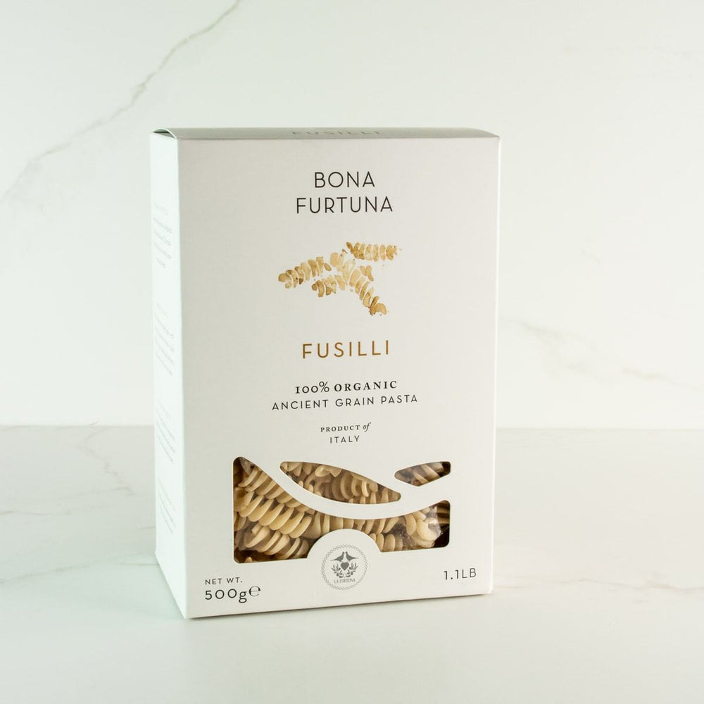 Bona Furtuna Fusilli - Imported Ancient Grain Fusilli from Italy