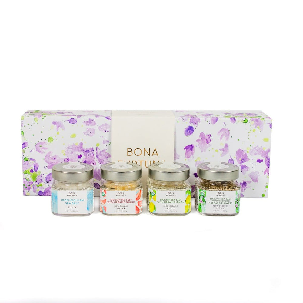 Bona Furtuna Trapani Sea Salt Sicilian Gift Collection