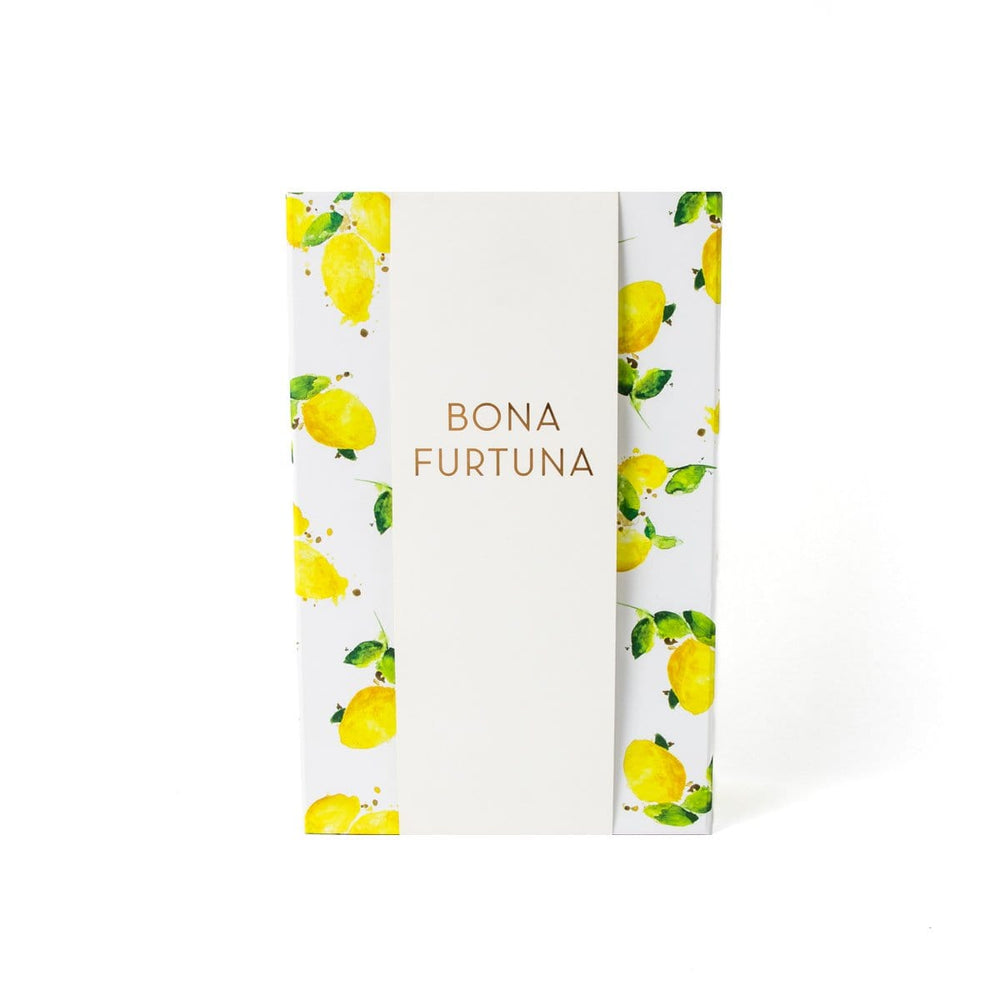 Bona Furtuna Il Vivace - Gourmet Olive Oil Gift Set with Sicilian Sea Salts and Spoon