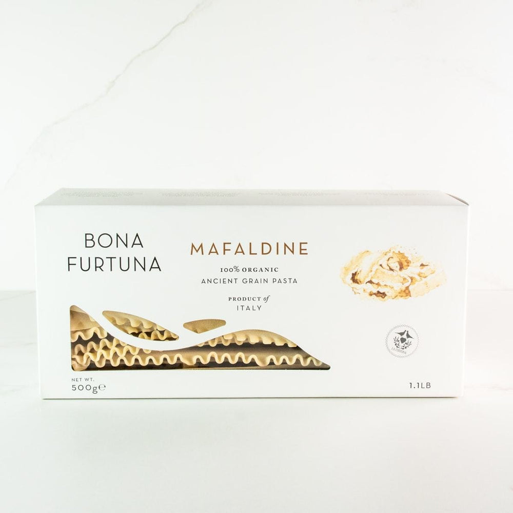Bona Furtuna Mafaldine - Imported Ancient Grain Mafaldine from Italy