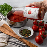 Bona Furtuna Marinara With Basil with Food Prep - Simple Tomato Basil Pasta Sauce