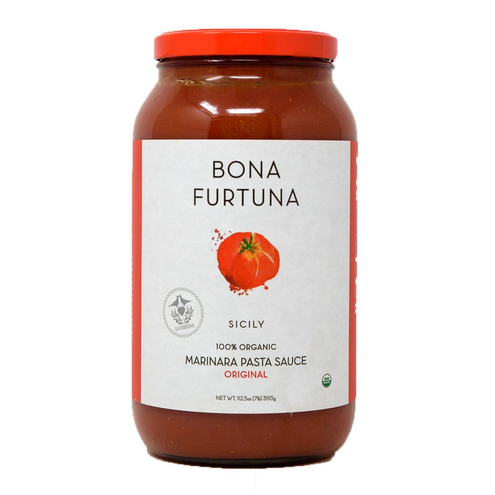 Bona Furtuna Original Marinara - Organic Sicilian Pasta Sauce with Corleonese Heirloom Tomatoes