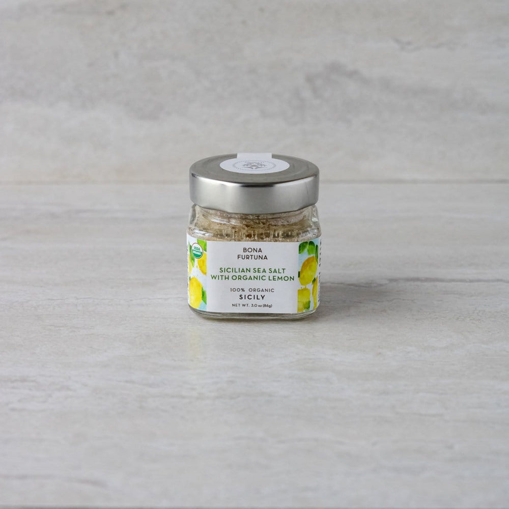 Sicilian Sea Salt with Organic Lemon