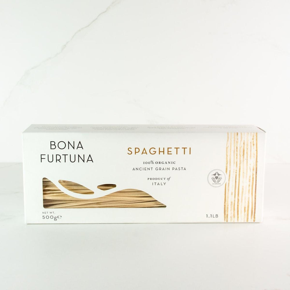 Bona Furtuna Spaghetti - Imported Ancient Grain Spaghetti from Italy