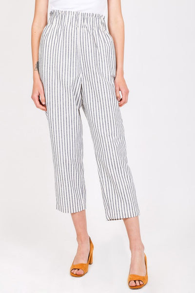 Bennett pants - Navy stripe