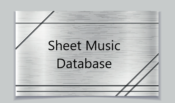 Sheet Music Database