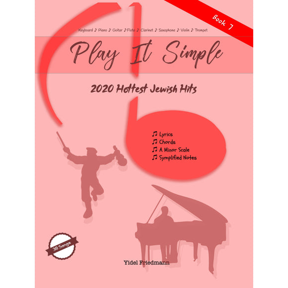 Play It Simple 2020 Hottest Jewish Hits Collection-Music Book-NoteWithGrace.com