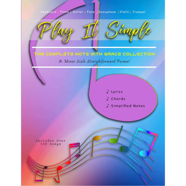 Play It Simple The Complete Note With Grace Collection-Music Book-NoteWithGrace.com