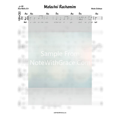 Tishrei Bundle Lead Sheets (Mixed Collections)-Sheet music-NoteWithGrace.com