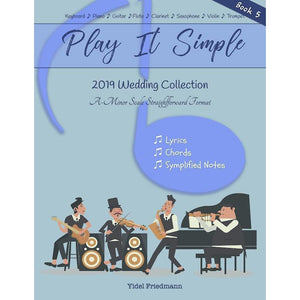 Play It Simple 2019 Wedding Collection-Music Book-NoteWithGrace.com