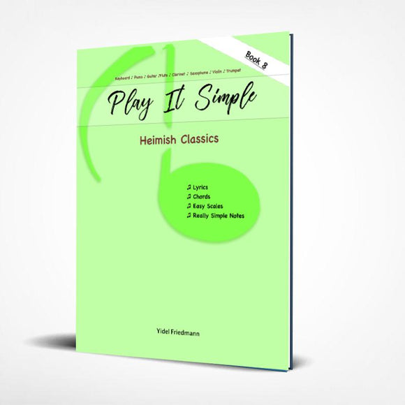 Play It Simple Heimish Classics (Published 2021)-Music Book-NoteWithGrace.com