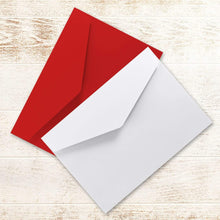 Load image into Gallery viewer, Aspire Designs Personalised A6 Folded Christmas Thank You Cards with Envelopes 1 / No / Yes