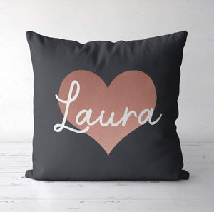 Aspire Designs Personalised Cushion Pillow & Insert - Lots of Pillowcase Cover Colours | Gift