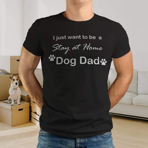 Aspire Designs Personalised Dog Dad | DOG FATHER T Shirt Lab Funny Clothing Dad Gift