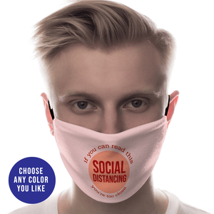 Aspire Designs Personalised Face Mask Washable Reusable Protective Covering | Social Distancing Design