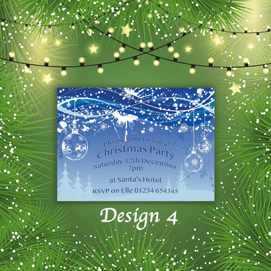 Aspire Designs Personalised Festive Merry Christmas Cards Xmas Postcards 10 / Yes