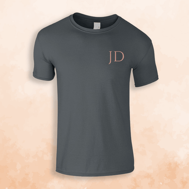 Aspire Designs Personalised Initial T-Shirt, Gift Idea Tee Top for Kids - Boys or Girls