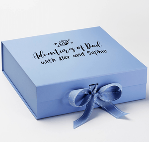 Aspire Designs Personalised Medium / Large Gift Box | Adventure Keepsake Boxes