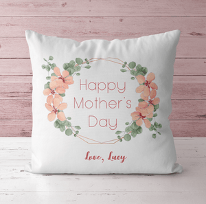 Aspire Designs Personalised Mother's Day & Mum's Photo Cushion with Insert | Mother's Day Gift Yes / Single Sided