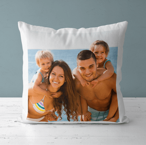 Aspire Designs Personalised Photo Cushion Pillow Case & Insert | Pillowcase Cover | Gift Idea