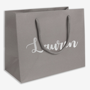 Aspire Designs Personalised Small Medium Large Name Gift Bag | Birthday Christmas Present