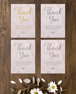 Aspire Designs Personalised Sweet Sixteen Party Thank You Cards | Rose Gold Theme 10 / Yes / Design 1