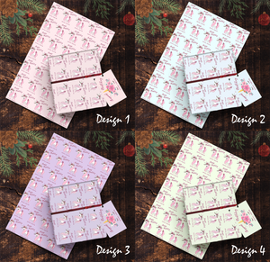 Aspire Designs Personalised Unicorn Wrapping Paper & Gift Tags | Cute Birthday or Any Occassion Present Wrap