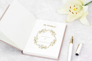 Aspire Personalised Designs Wedding Planner | Luxury Gold Embossed Organiser | Bridal Planning Book Journal | Engagement Gift