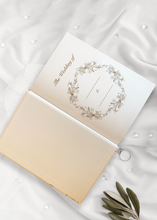 Load image into Gallery viewer, Aspire Personalised Designs Wedding Planner | Luxury Gold Embossed Organiser | Bridal Planning Book Journal | Engagement Gift