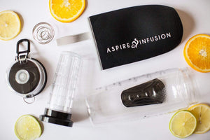 Aspire Products Aspire Infusion - 3-in-1 Fruit Infuser Motivational Water Bottle