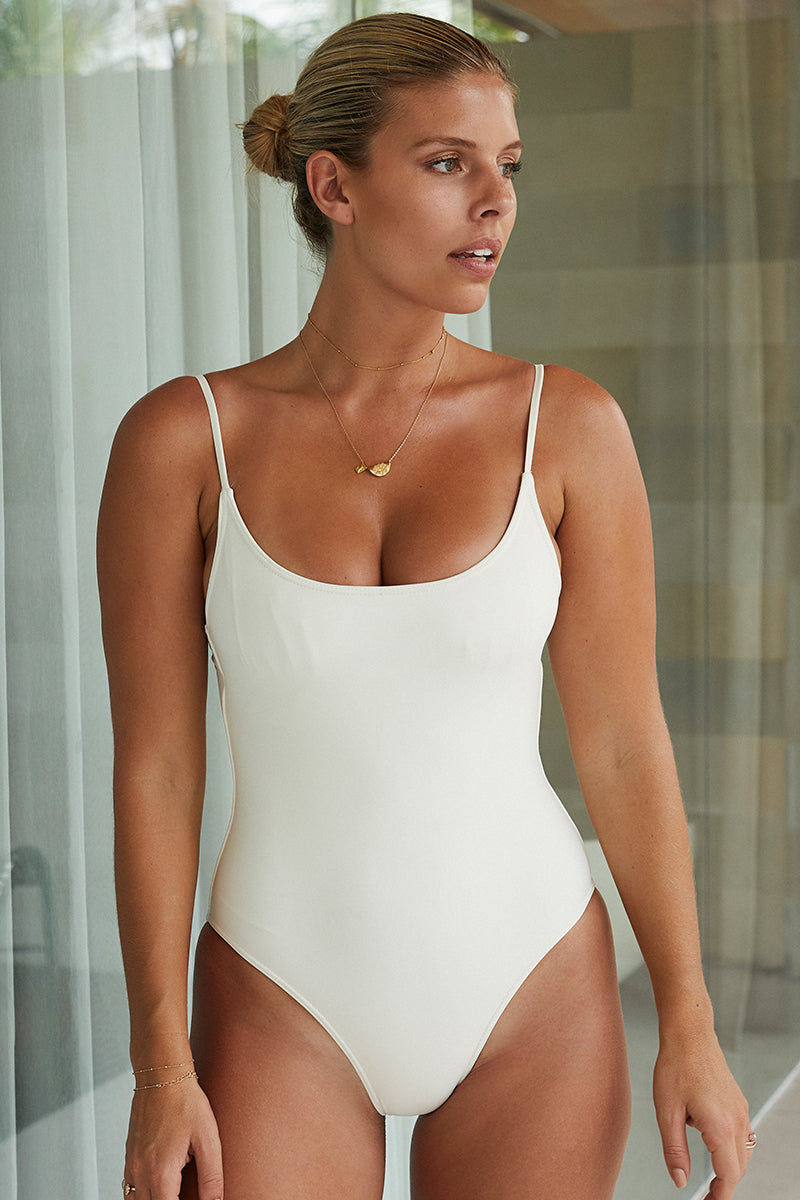 Load image into Gallery viewer, Bahamas One Piece Long Body - Ivory