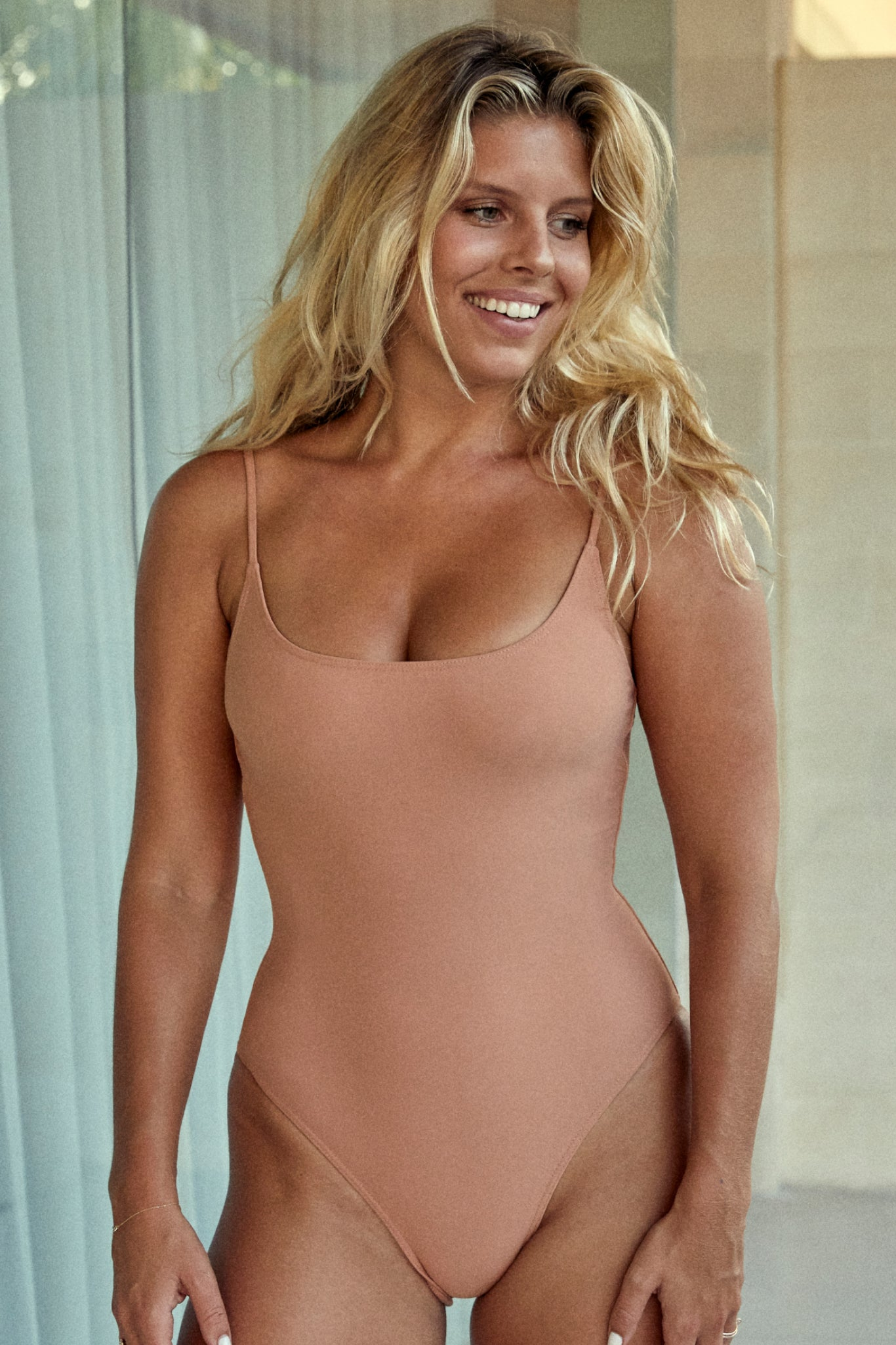 Bahamas One Piece - Nude
