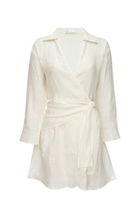 Kythira Dress - Ivory