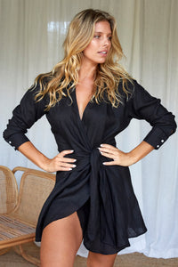 Kythira Dress - Black