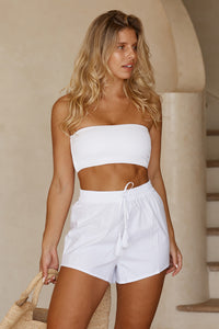 La Jolla Short - White