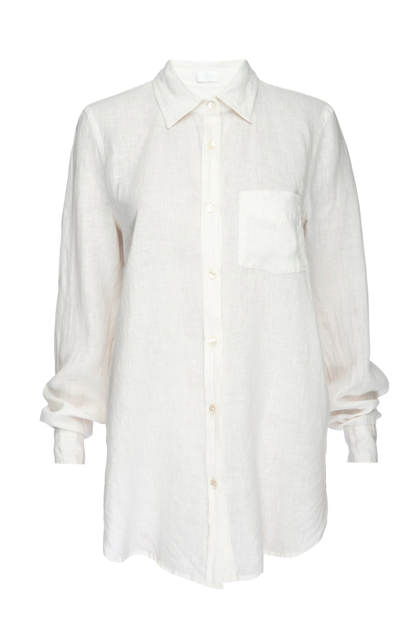 Load image into Gallery viewer, Monaco Linen Shirt - White