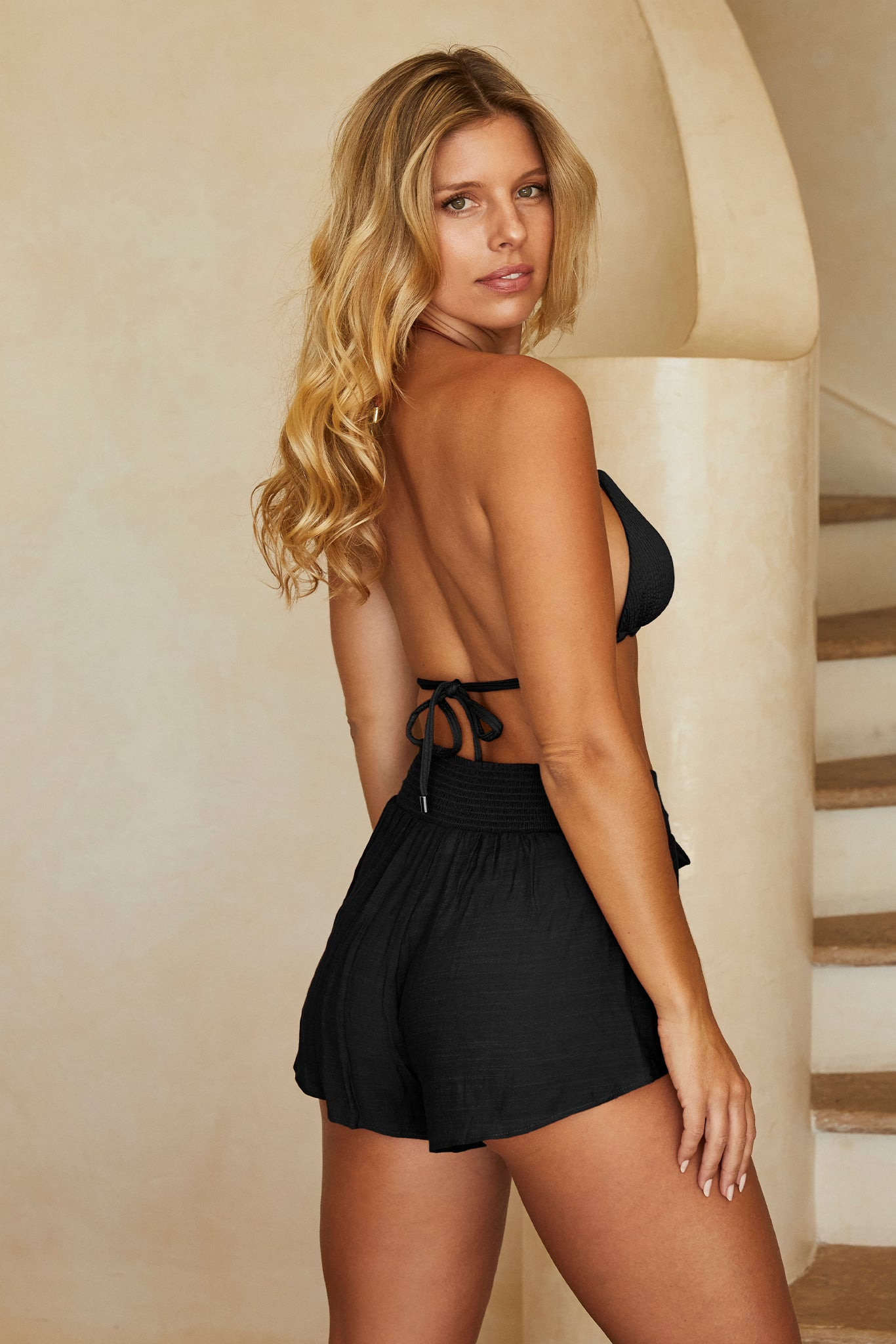 Load image into Gallery viewer, San Miguel Short - Black