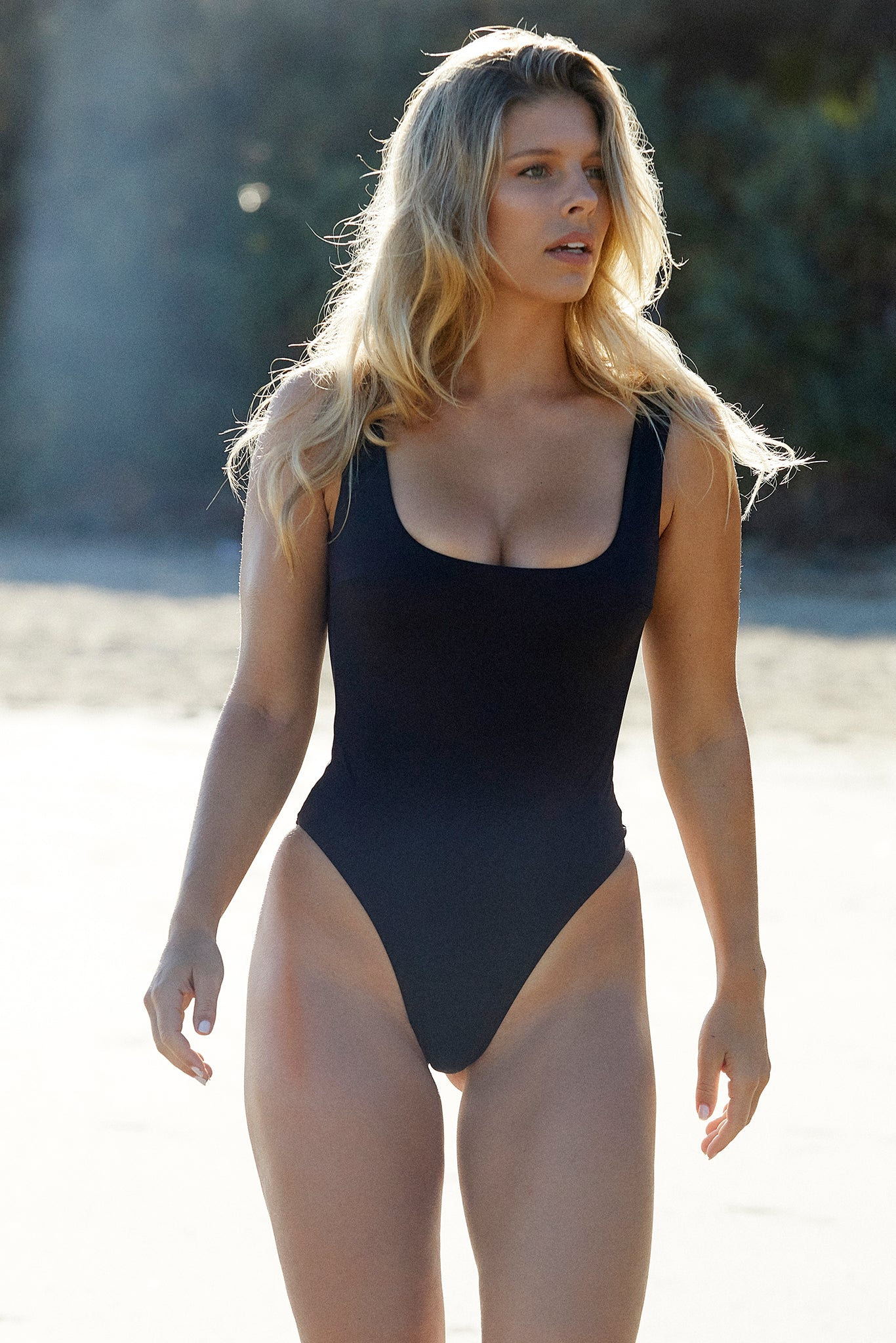 Sardinia One Piece - Black