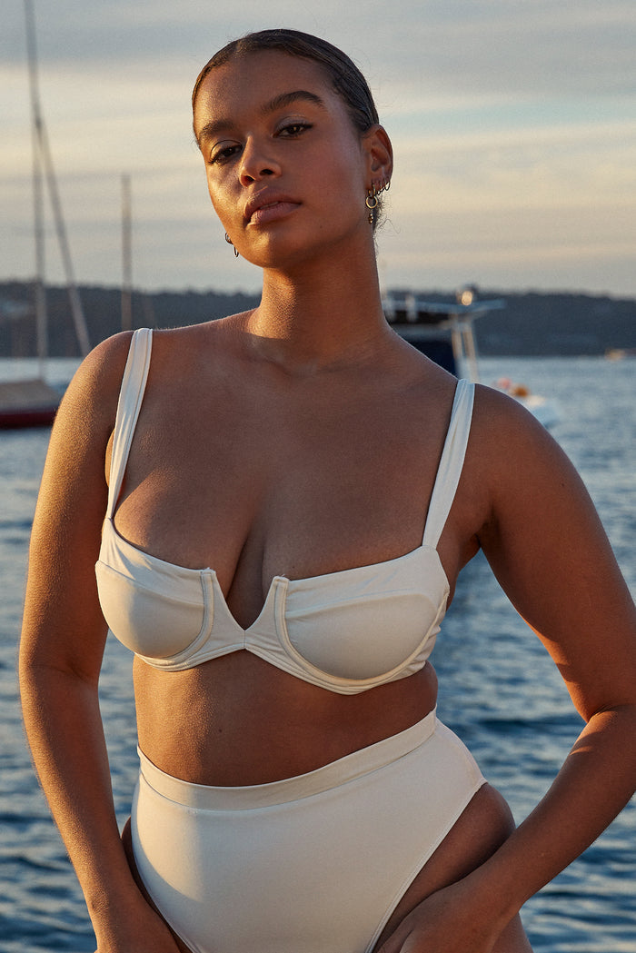 Clovelly Top - Ivory