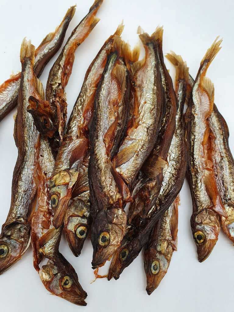 Whole Icelandic Capelin - TickledPet