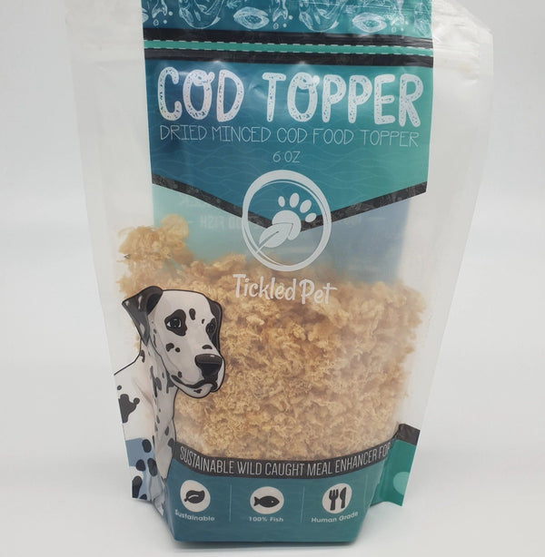 Cod Food Topper for dogs 6 oz TP30 - TickledPet