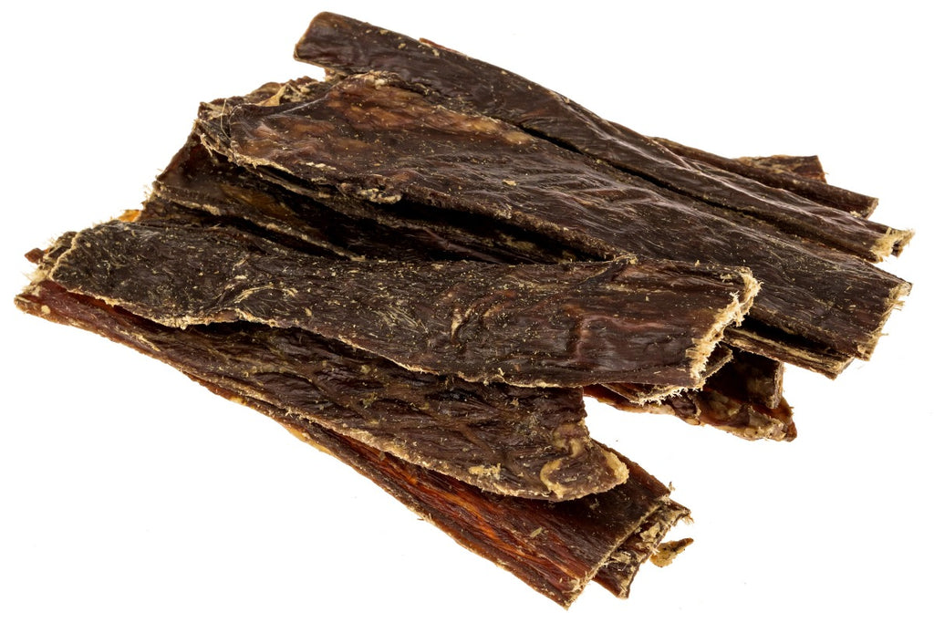 Premium Single Ingredient Beef Jerky Dog Treats