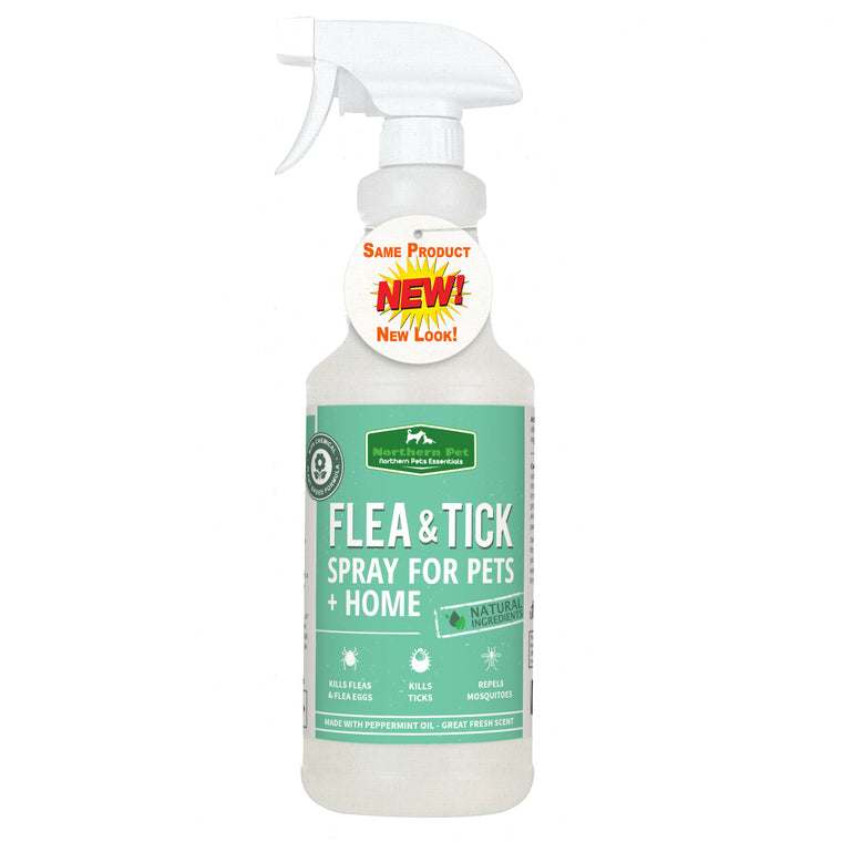Northern Pet Natural Flea & Tick Control Spray - 32oz