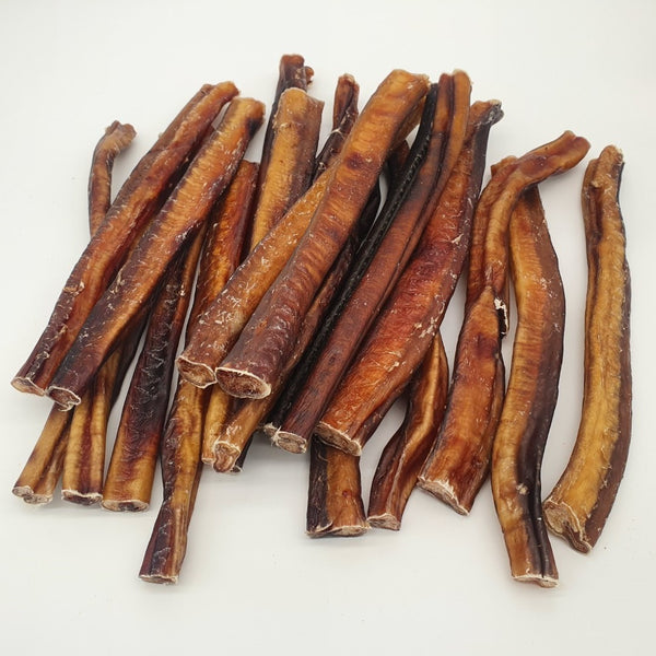 "Premium USA Bully Sticks 12"" Odor Free - 47-53 gram Each - 3 Pack - TickledPet"