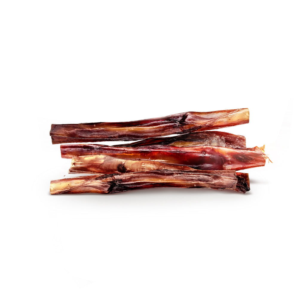 USA Bully Sticks – 100% Natural Beef Pizzle Dog Treats - 12 inch - TickledPet
